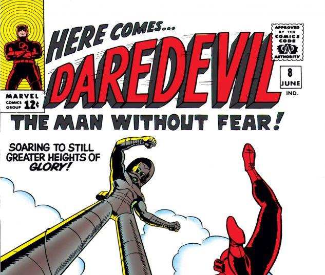 DAREDEVIL (1964) #8 Cover