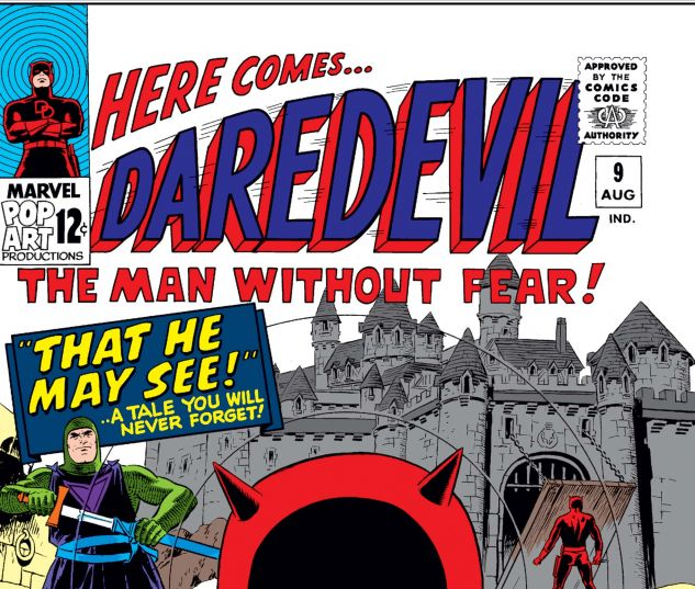 DAREDEVIL (1964) #9 Cover
