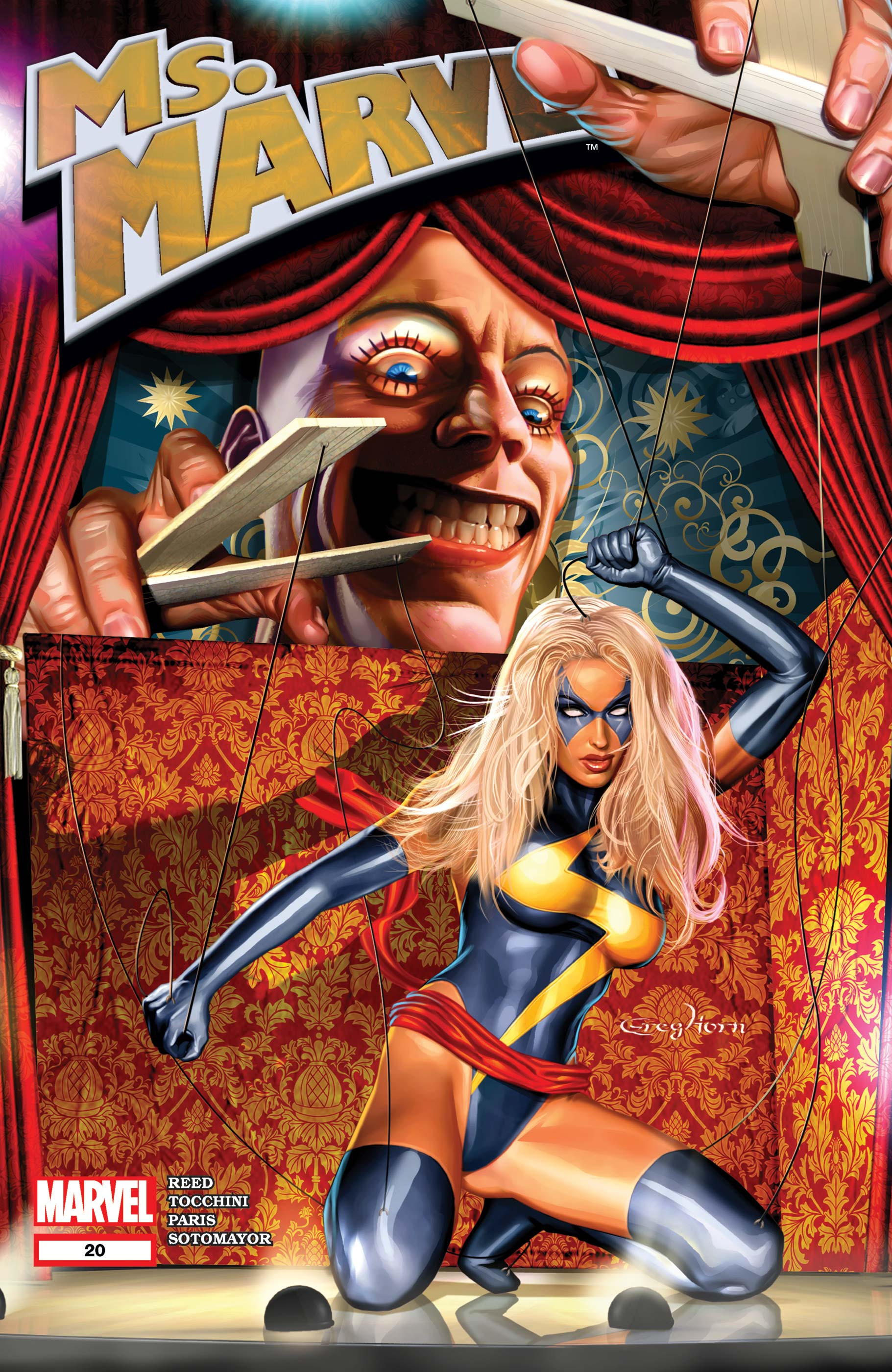 Ms. Marvel (2006) #20