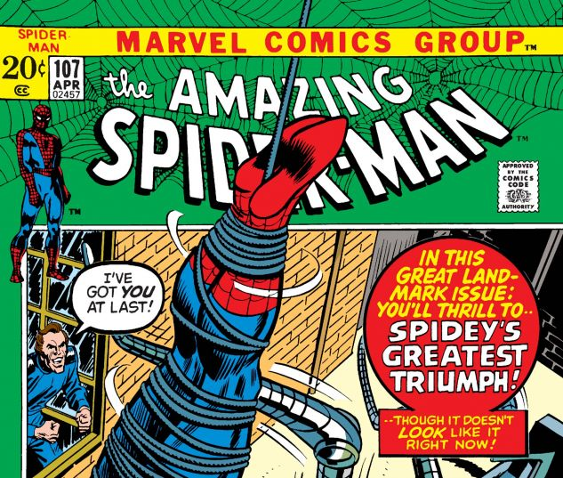 Amazing Spider-Man (1963) #107
