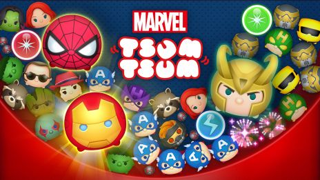 Marvel Tsum Tsum is Now Available!