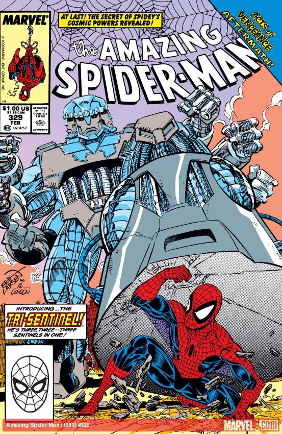 The Amazing Spider-Man (1963) #329