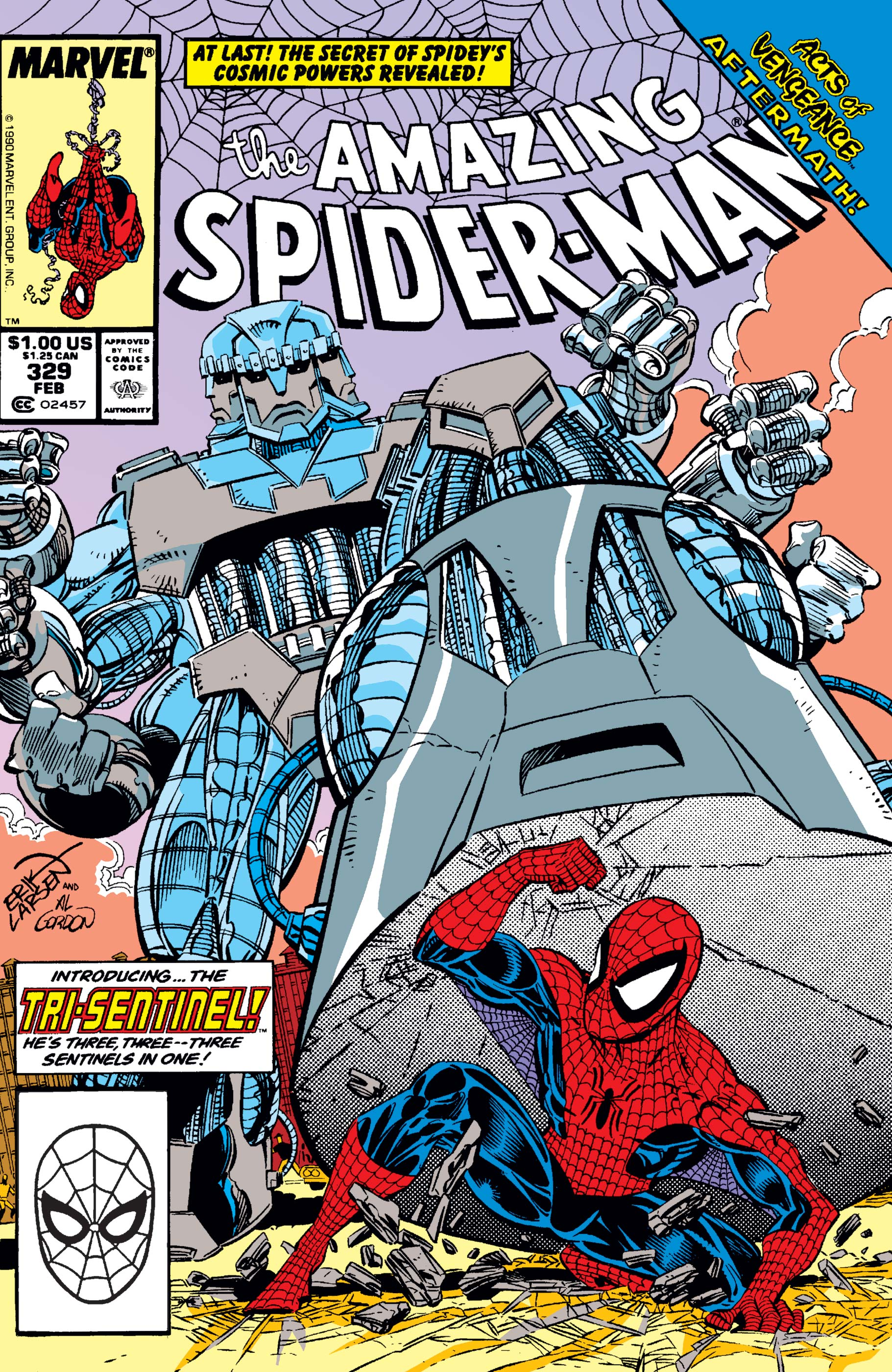 The Amazing Spider-Man (1963) #329