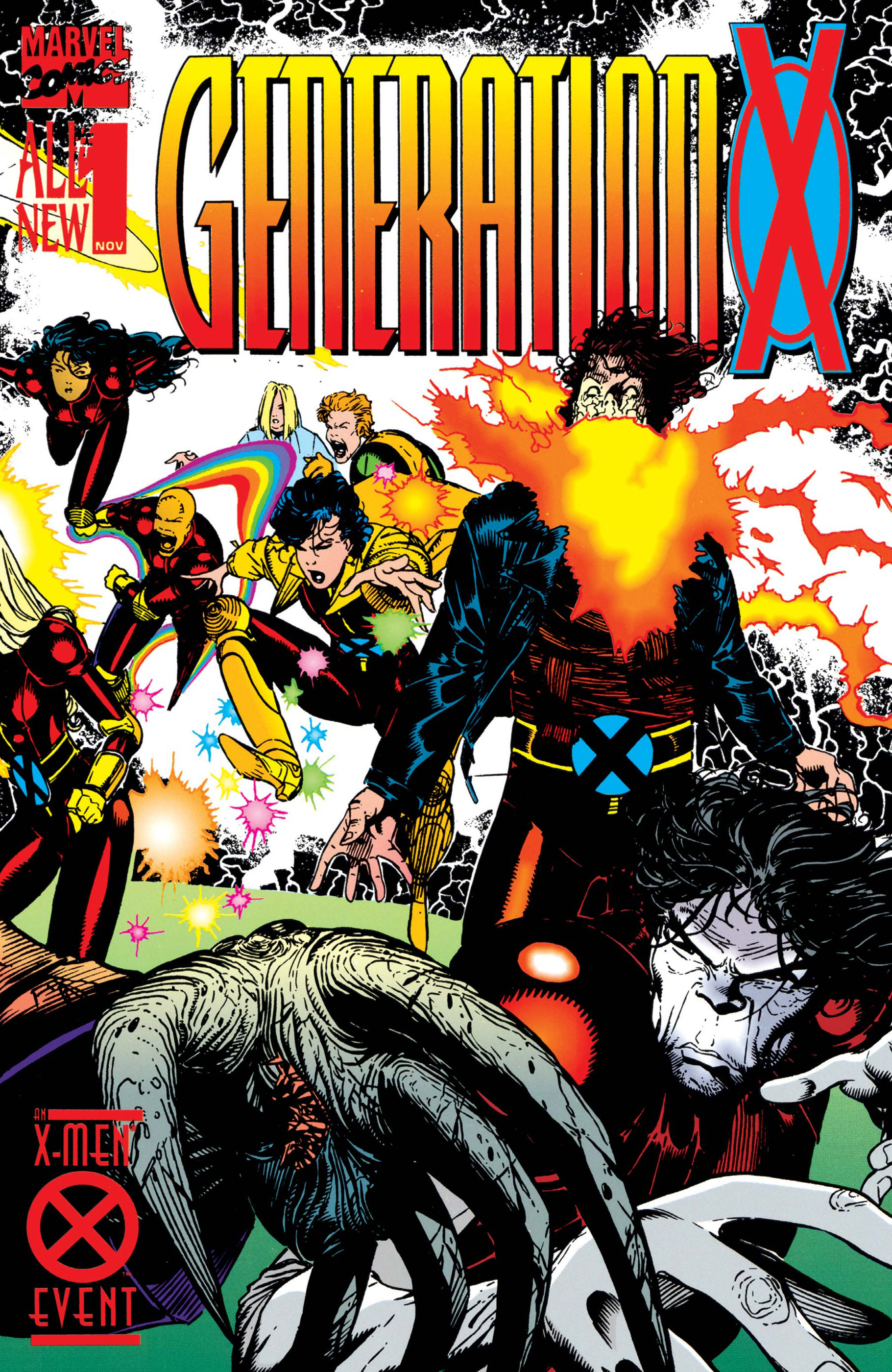 Generation X (1994) #1