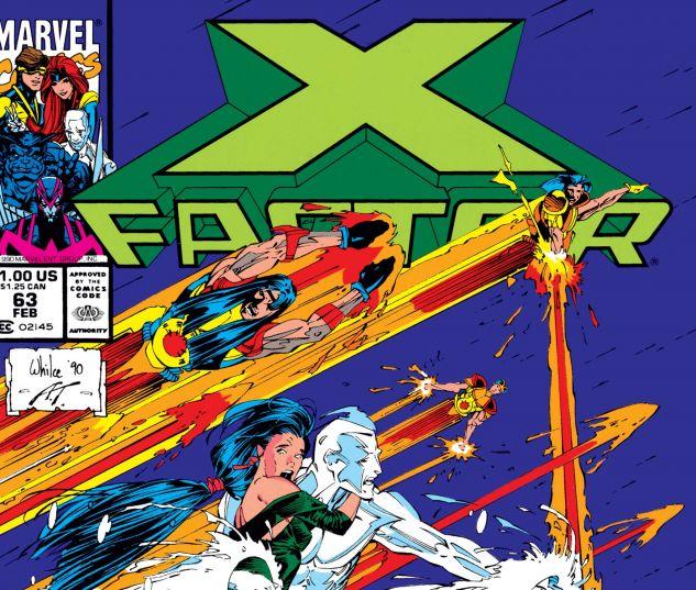 X-Factor (1986) #63