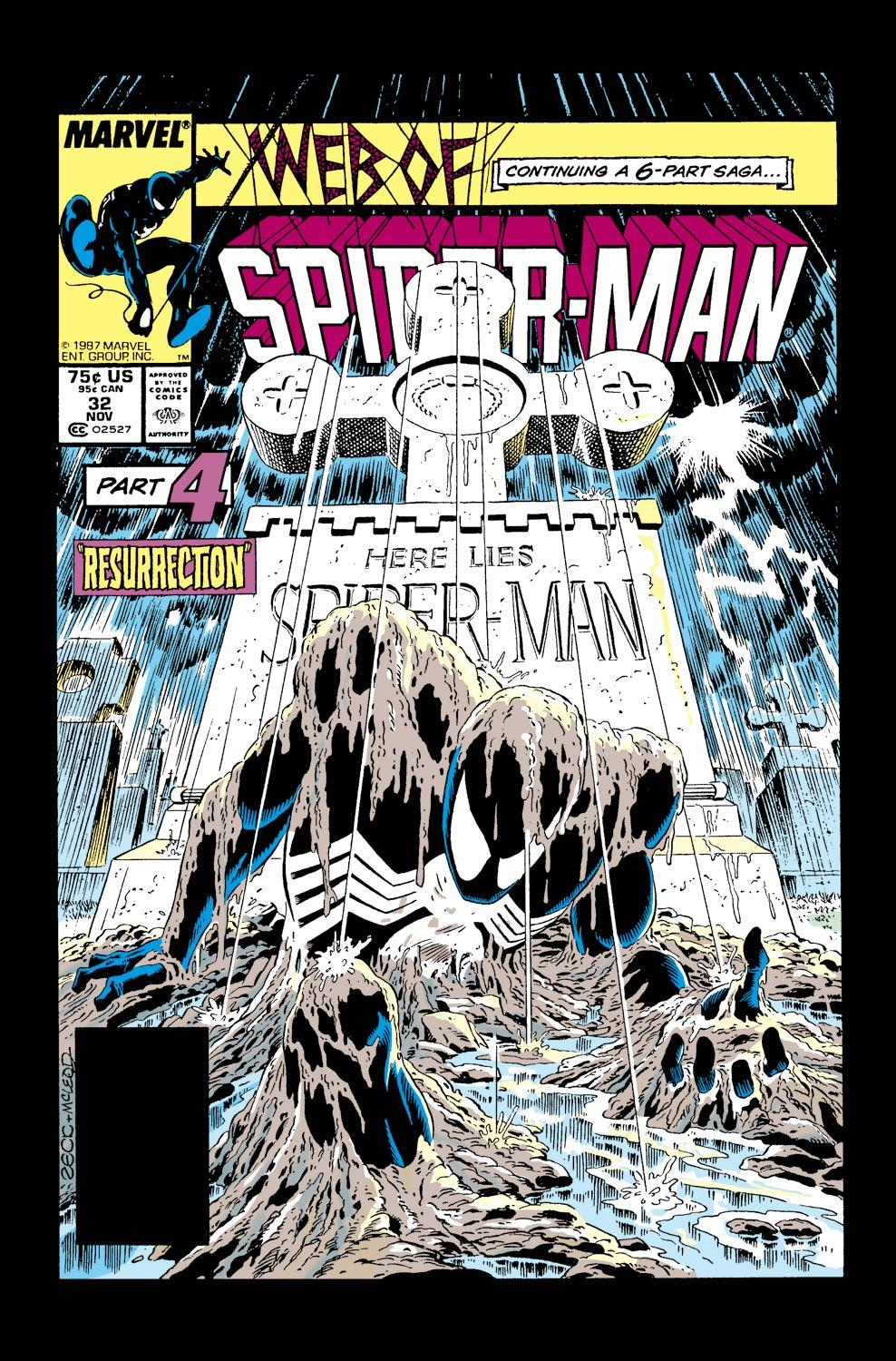 Web of Spider-Man (1985) #32