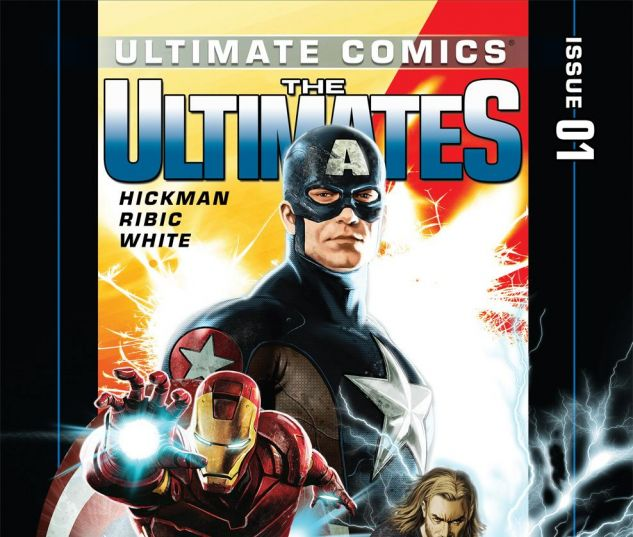 Ultimate Comics Ultimates #1 Cover