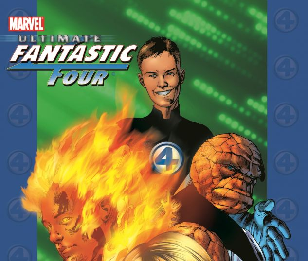 ULTIMATE FANTASTIC FOUR VOL. 1: THE FANTASTIC 0 cover