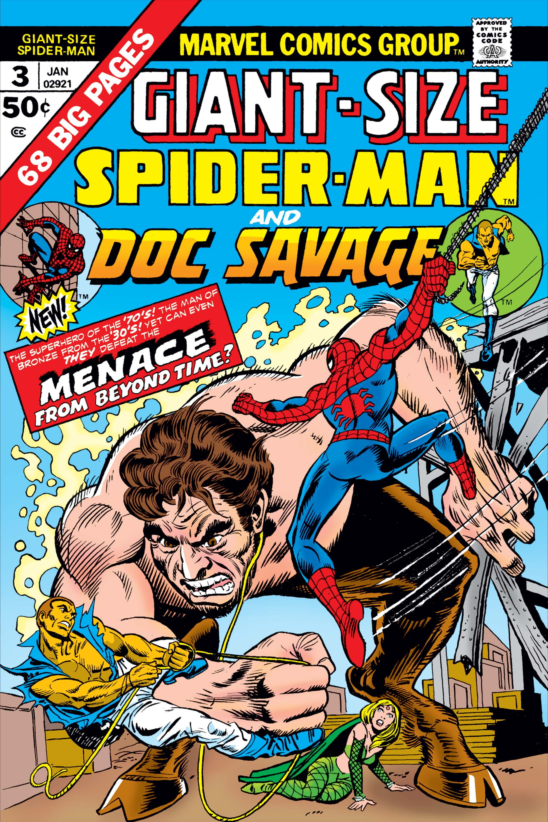 Giant-Size Spider-Man (1974) #3