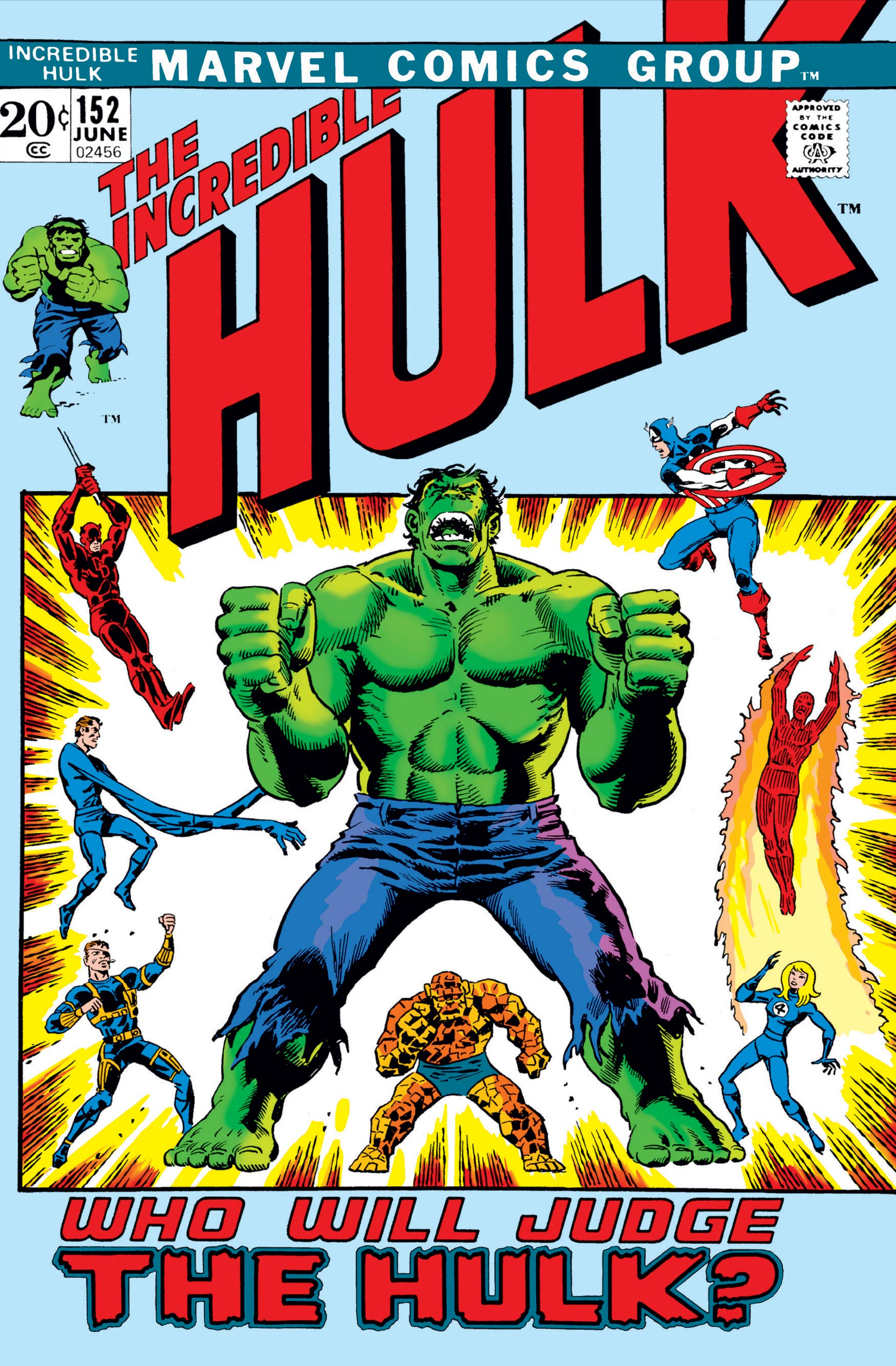 Incredible Hulk (1962) #152