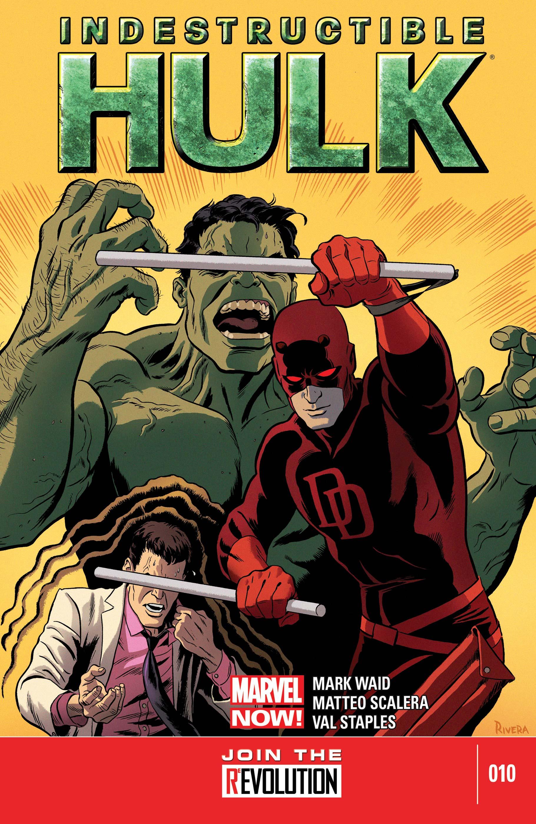 Indestructible Hulk (2012) #10