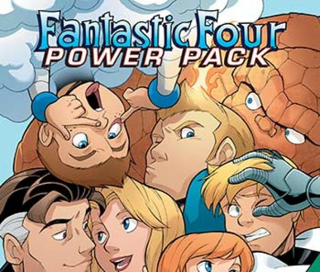 cover from Fantastic Four and Power Pack Infinite Comic (2018) #8