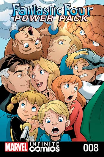 Fantastic Four and Power Pack (2018) #8