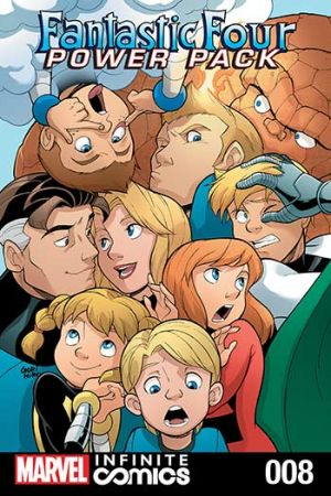 Fantastic Four and Power Pack #8