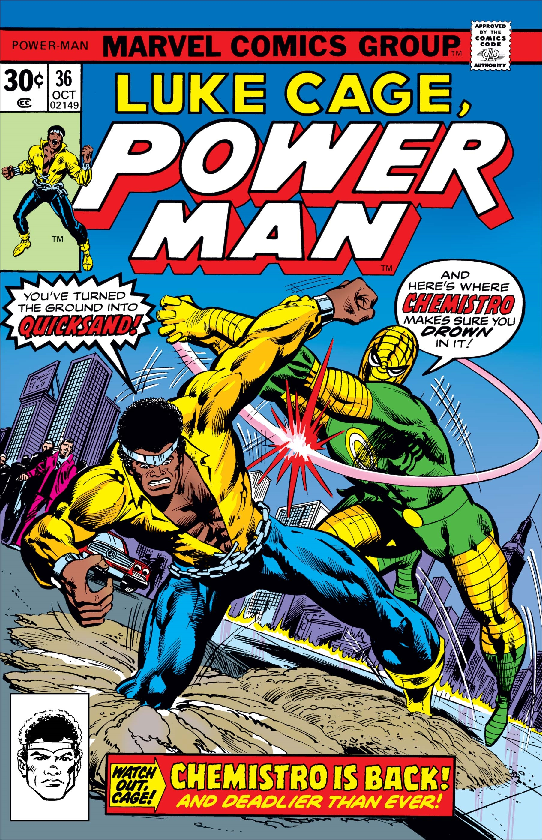 Power Man (1974) #36