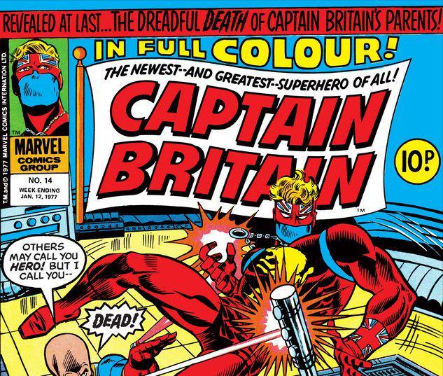 Captain Britain #14