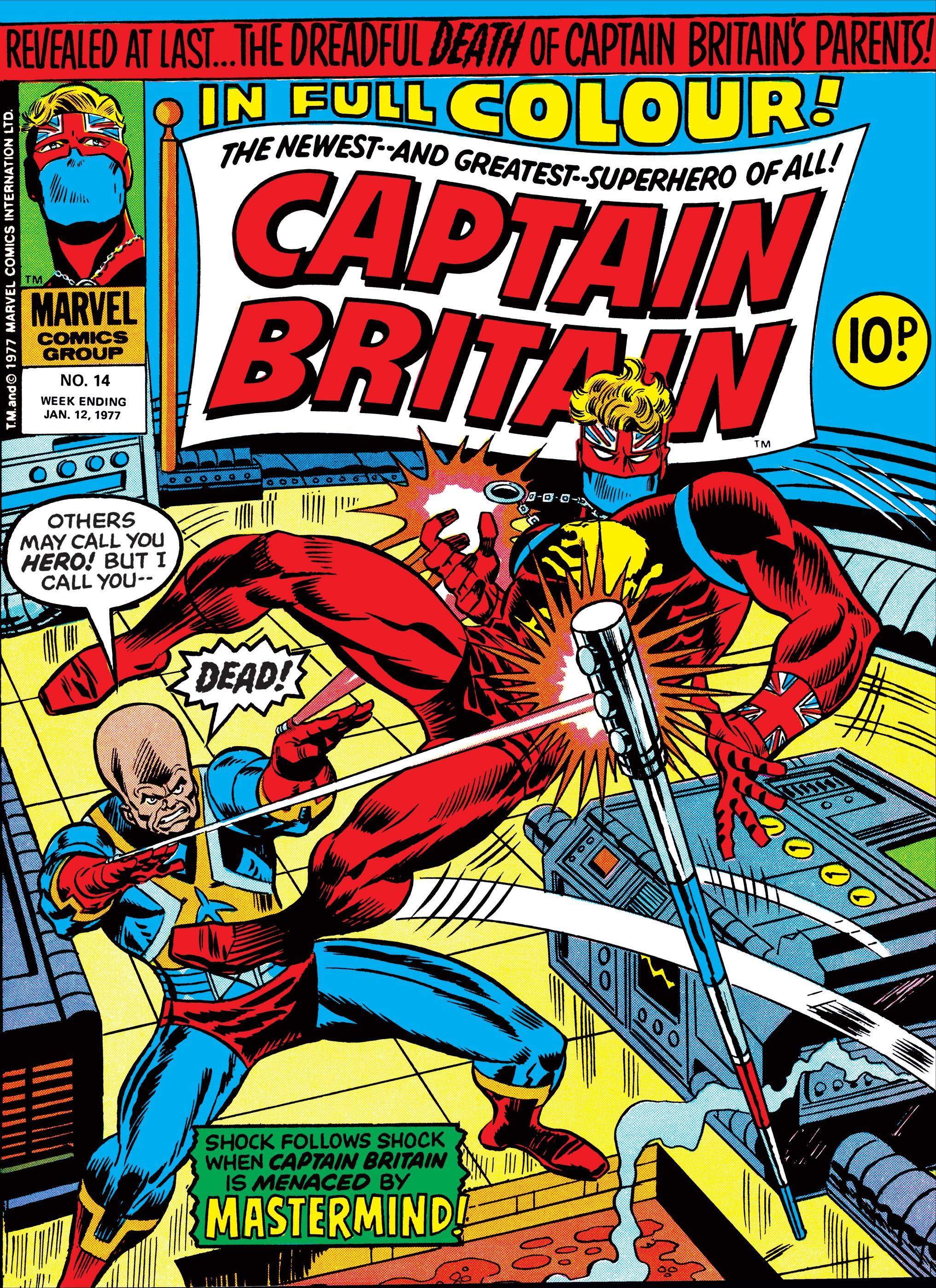 Captain Britain (1976) #14