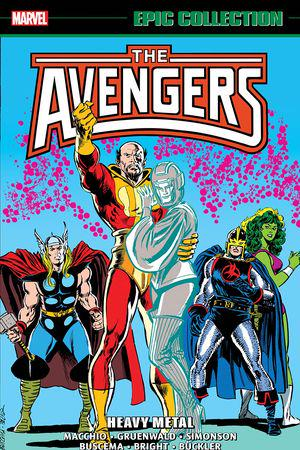 Avengers Epic Collection: Heavy Metal (Trade Paperback)