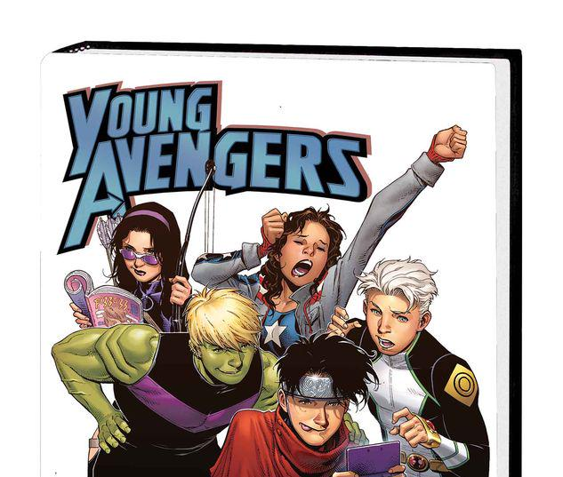 Young Avengers by Kieron Gillen & Jamie Mckelvie #0