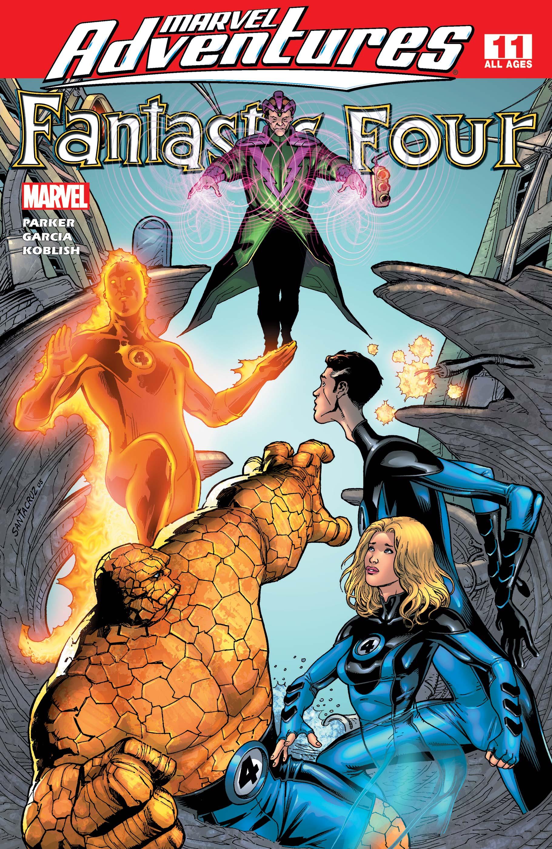 Marvel Adventures Fantastic Four (2005) #11