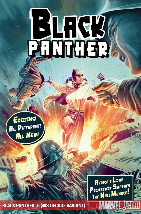 Black Panther (2008) #6 (40S DECADE VARIANT)