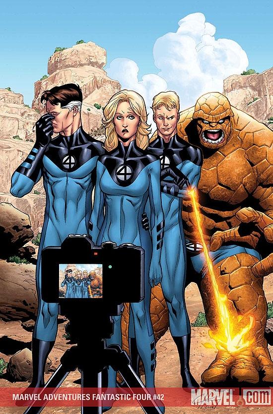 Marvel Adventures Fantastic Four (2005) #42