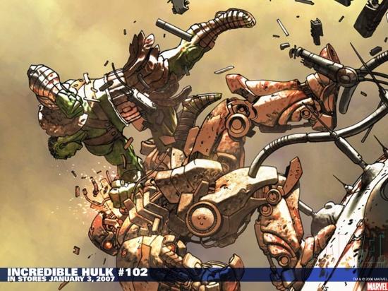 Incredible Hulk (1962) #102 Wallpaper