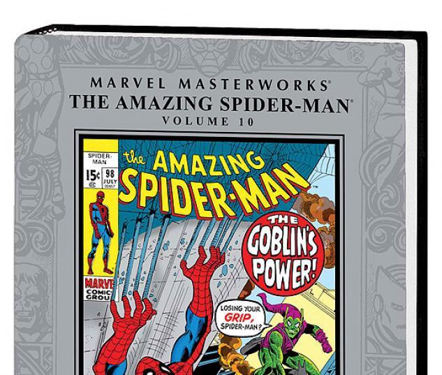 MARVEL MASTERWORKS: THE AMAZING SPIDER-MAN VOL. 10 #0