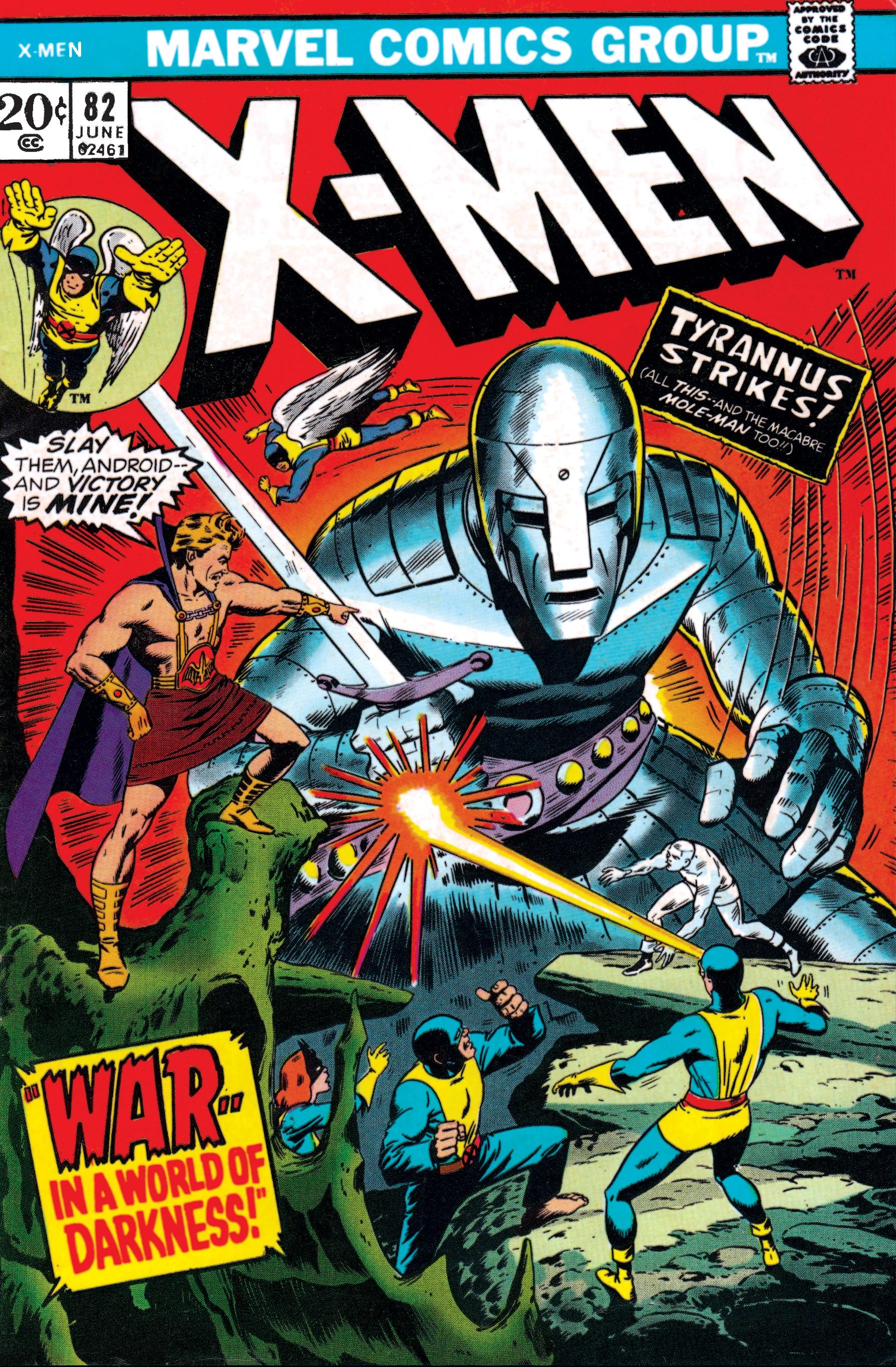 Uncanny X-Men (1963) #82