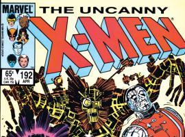 Uncanny X-Men (1963) #192 Cover