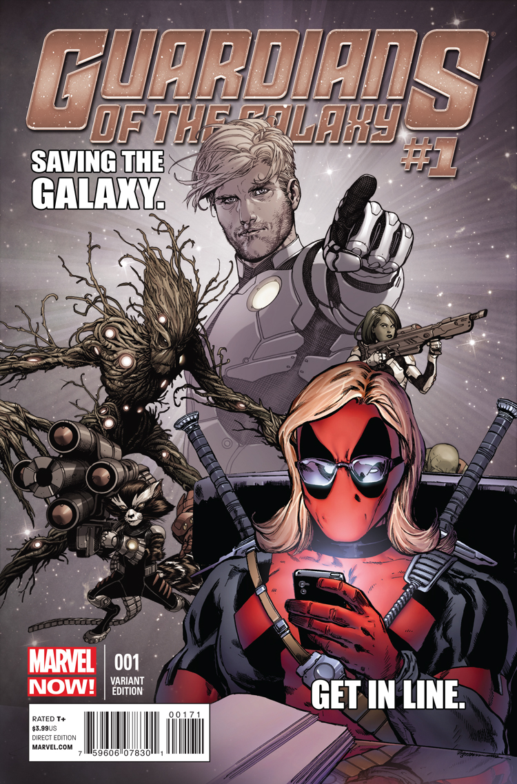 Guardians of the Galaxy (2013) #1 (Texts from Deadpool Variant)