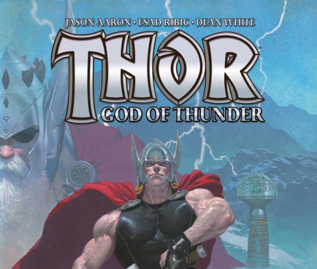 Thor: God of Thunder 2012 Cover #1