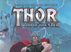 Thor: God of Thunder 2012 Cover #1