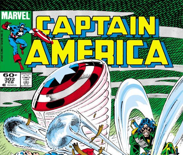 Captain America (1968) #302 Cover