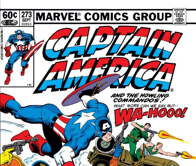 Captain America (1968) #273 Cover
