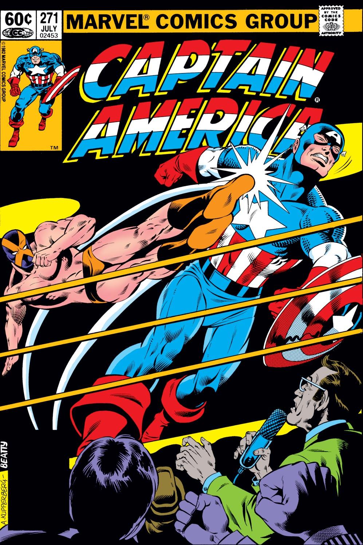 Captain America (1968) #271
