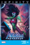AVENGERS ASSEMBLE 18 (NOW, INF, WITH DIGITAL CODE)