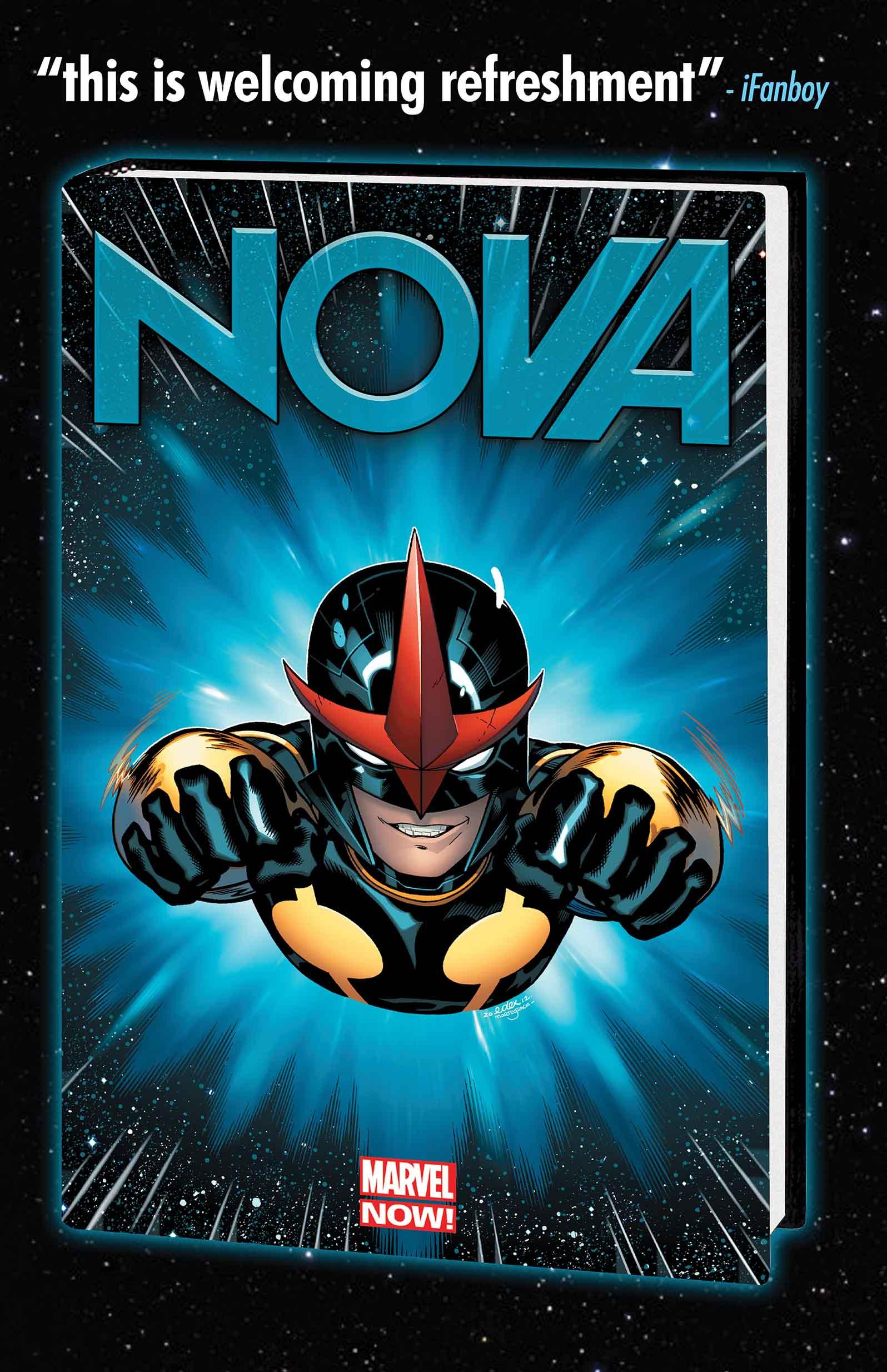 NOVA: ORIGIN PREMIERE HC (MARVEL NOW, WITH DIGITAL CODE) (Hardcover)