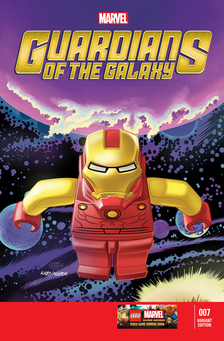 Guardians of the Galaxy (2013) #7 (Castellani Lego Variant)