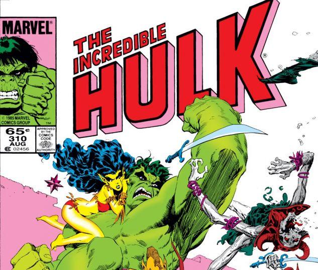 Incredible Hulk (1962) #310 Cover