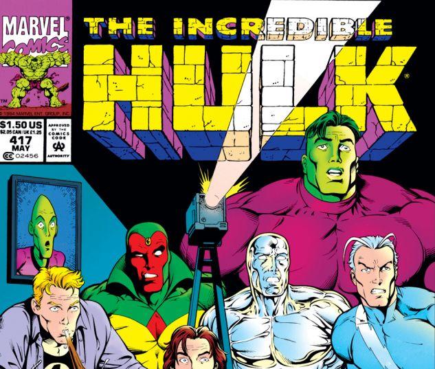 Incredible Hulk (1962) #417 Cover