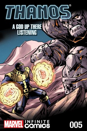 Thanos: A God Up There Listening Infinite Comic (2014) #5