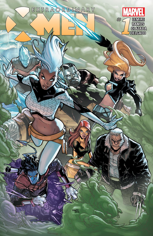 Extraordinary X-Men (2015) #1