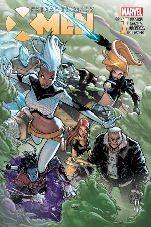Extraordinary X-Men (2015) #1