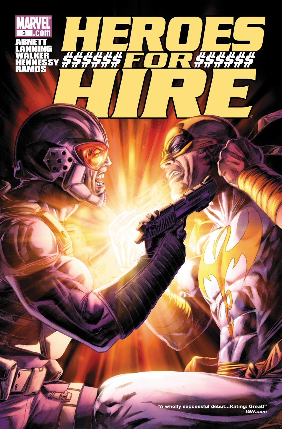 Heroes for Hire (2010) #3