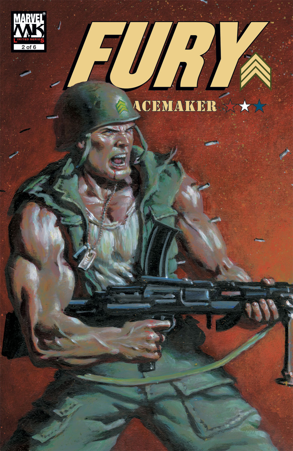 FURY: PEACEMAKER TPB (Trade Paperback)