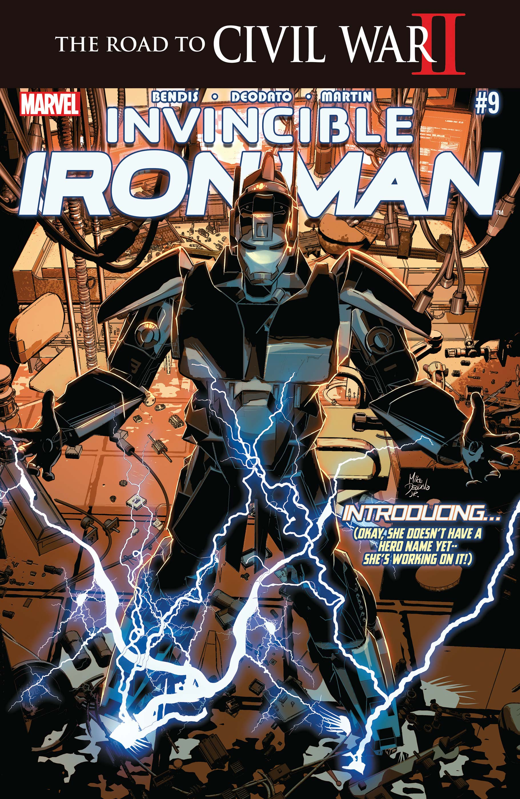 Invincible Iron Man (2015) #9