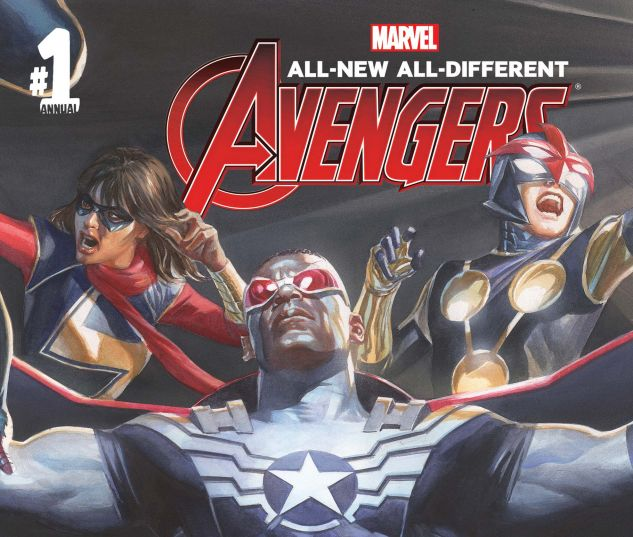 cover from All-New, All-Different Avengers Annual (2016) #1