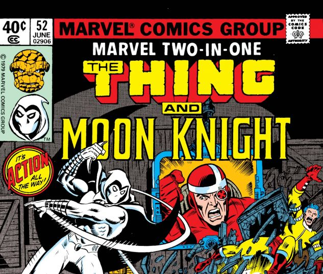 MARVEL TWO-IN-ONE (1974) #52