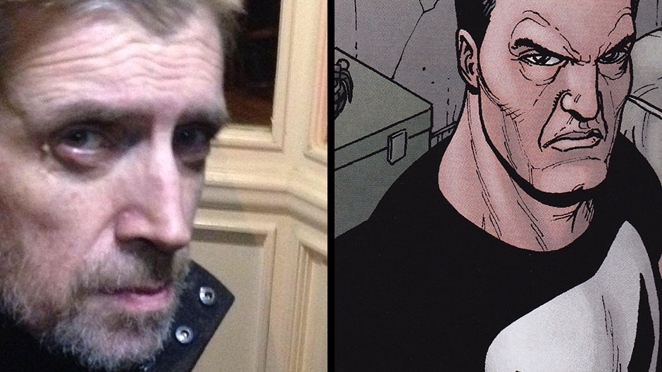 Steve Dillon and The Punisher by Steve Dillon